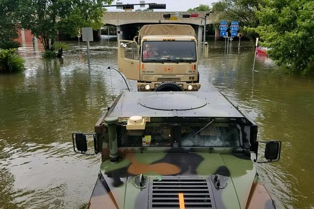 Here's How Harvey Is Impacting Military, Veteran Benefits