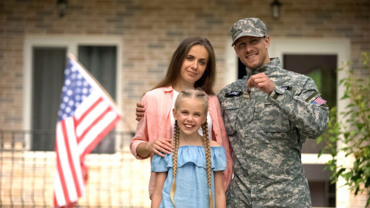 Military Benefits for Families Living on a Military Base